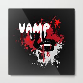 Vamp Metal Print