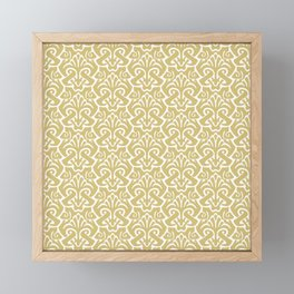 Art Nouveau Pattern Gold Framed Mini Art Print