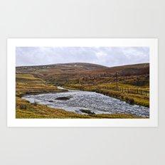 Spango View In Scotland  Art Print