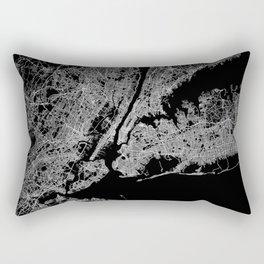 New York map Rectangular Pillow