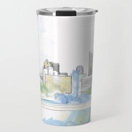 Pittsburgh Point Travel Mug