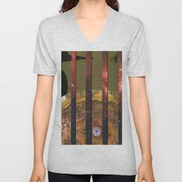 In the shadow of Heaven Unisex V-Neck