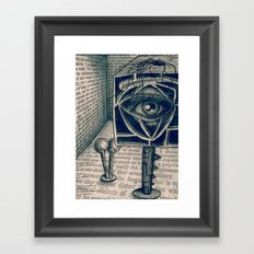 i saw everything Framed Art Print