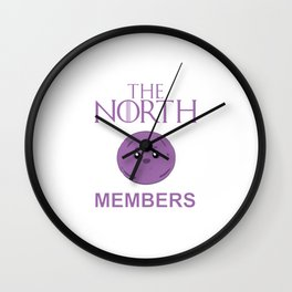 The North Members Wall Clock