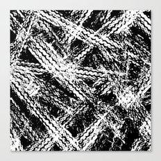 Desert Tracks Canvas Print