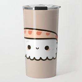 Cute prawn sushi Travel Mug