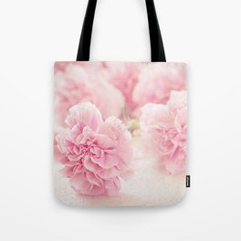 Pale Pink Carnations 2 Tote Bag