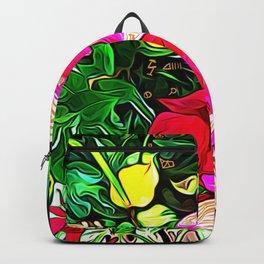 Flower Codes of Revelation Backpack