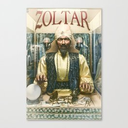 Zoltar the fortune teller London England UK Canvas Print