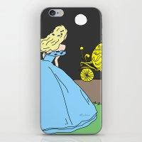 cinderella iPhone & iPod Skins featuring Cinderella by RaJess