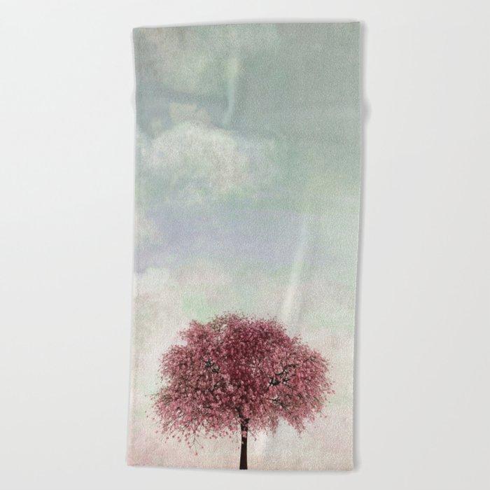 Sakura Beach Towel