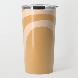 golden rainbow Travel Mug
