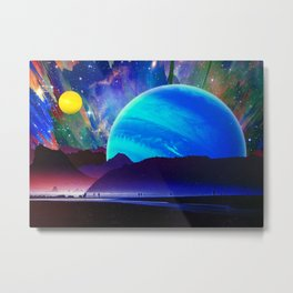 A Sunday Afternoon On The Island Of A Distant Planet Metal Print