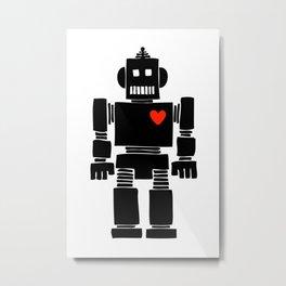 Loverbot Metal Print