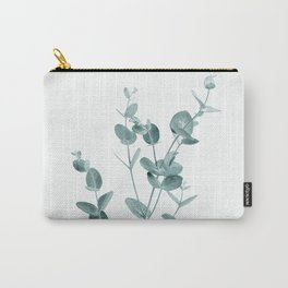 Minimal Eucalyptus Carry-All Pouch