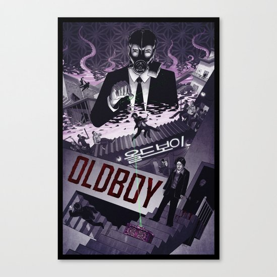 Oldboy [limited color] Canvas Print