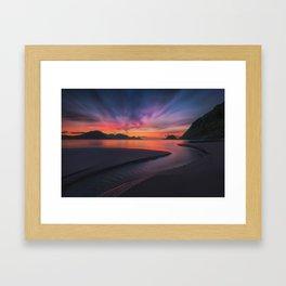 The Stream Framed Art Print
