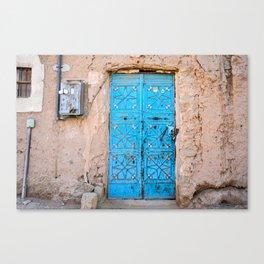 Door To The Past Canvas Print