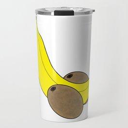 Banana And Kiwis Travel Mug