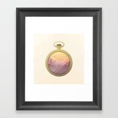 From Dusk to Dust Framed Art Print