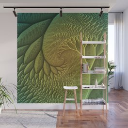 Innie and Outie Wall Mural