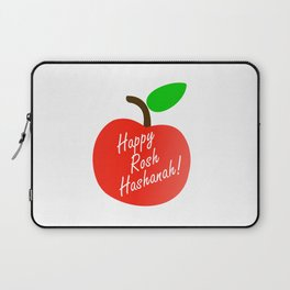 Rosh Hashanah inside an red apple or Jewish Near year greetings Laptop Sleeve