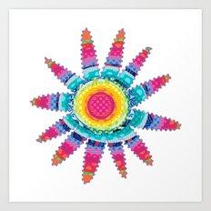 Fantasy Piñata Art Print