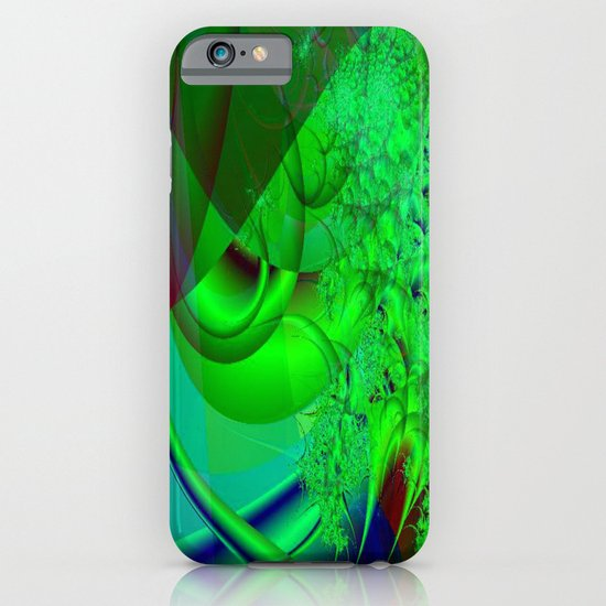 Abstract Green Algae iPhone & iPod Case