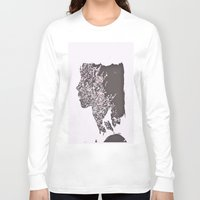 blush Long Sleeve T-shirts featuring Blush by Jane Lacey Smith