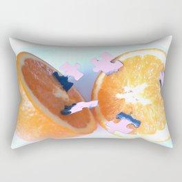 Pulped Puzzle Rectangular Pillow