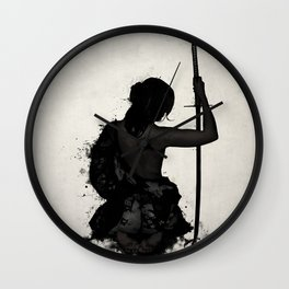 Female Samurai - Onna Bugeisha Wall Clock