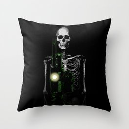 Cinema Macabre Throw Pillow