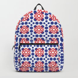 Geometric Pattern - Oriental Design Backpack