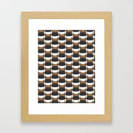 Liquid Addiction (coffee) Framed Art Print