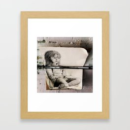 This is the Story of a Girl... Framed Art Print