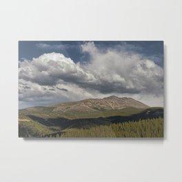 Cloud over Breckenridge Colorado Metal Print