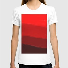 Ombre in Red T-shirt