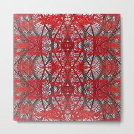Red-Xmas Metal Print