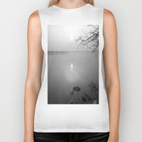 serenity Biker Tanks featuring serenity by  Agostino Lo Coco