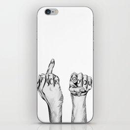 Fuck You iPhone Skin