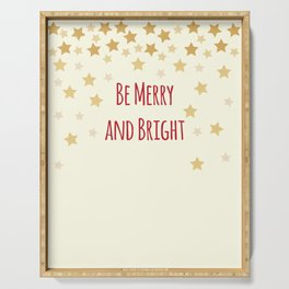 Be Merry and Bright Serving Tray
