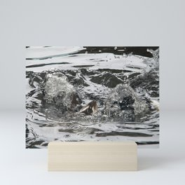 TEXTURES -- Troubled Waters Mini Art Print