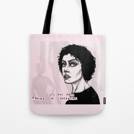 Even smiling makes my face ache! Tote Bag