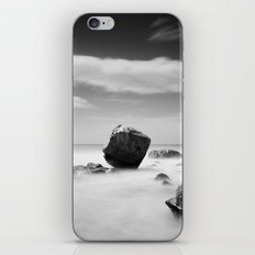 Standing out of the Crowd - A long exposure Seascape iPhone & iPod Skin