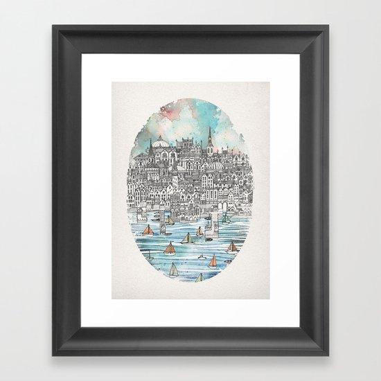 Opal Framed Art Print