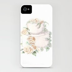 Wedding Cake Slim Case iPhone (4, 4s)