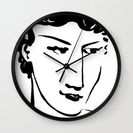 Face Stare Wall Clock