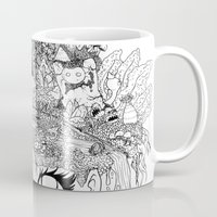 oasis Mugs featuring Oasis by KadetKat