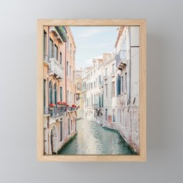 Venice Morning - Italy Travel Photography Framed Mini Art Print