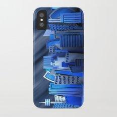 Blue City Slim Case iPhone X